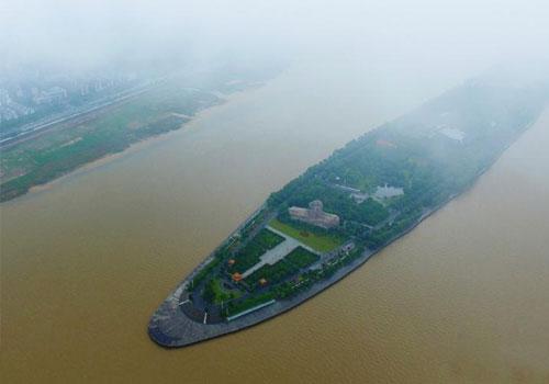 湖南遭遇连日强降雨 长沙迎洪峰