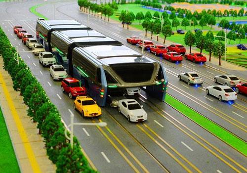 """中國""""最牛巴士""""設計亮相 可載1200名乘客"""