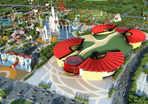 万达城迎客挑战迪士尼 王健林豪语5年建20乐园