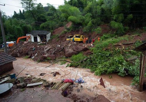 杭州建德山体滑坡已致3人死亡