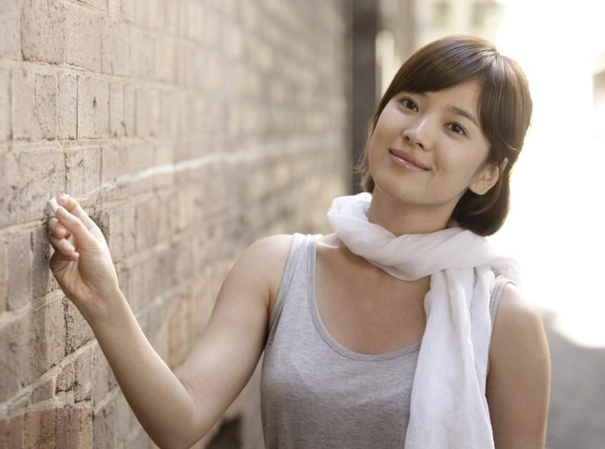 34岁的宋慧乔演戏还要装可爱:我也很苦恼