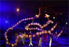 湖南城步苗族吊龙流光溢彩