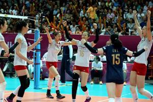 中国女排奥运阵容初现端倪 自由人位置最稳固