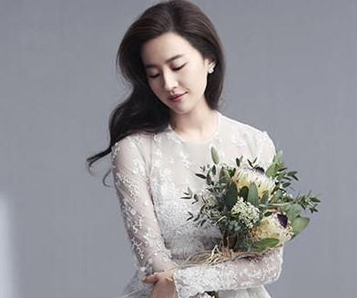 刘亦菲婚纱写真曝光 仙气飘飘美如画