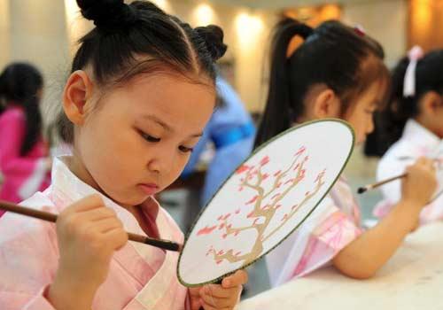 济南儿童体验传统文化