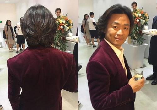 王宝强梳李咏式经典长卷发
