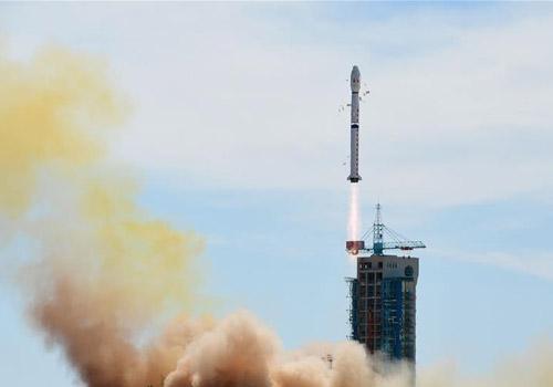 中国成功发射实践十六号02卫星