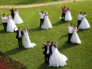《完美婚礼》收官:百位新人集结黄帝故里 再现婚礼盛况