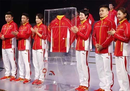 中國代表團發佈里約奧運會新裝備