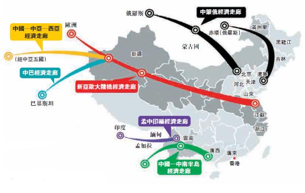 [一带一路]六大经济走廊建设提速 惠沿线40亿人