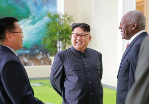 金正恩会见古巴共产党第一书记特使