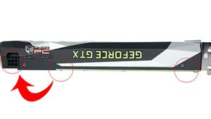 GTX 1060設計匪夷所思:竟然飛線延伸6pin