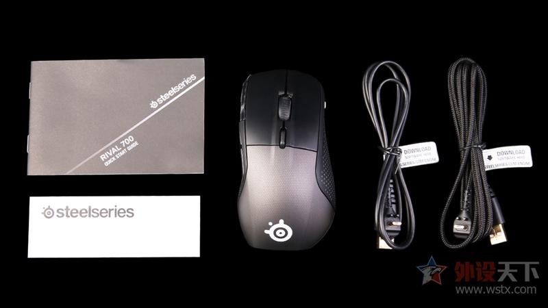 自帶OLED屏!賽睿最強鼠標Rival 700評測