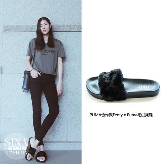"""刘雯穿拖鞋看秀 時髦的人都在穿這""""醜""""拖鞋"""