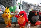 「憤怒的小鳥」主題嘉年華啟幕
