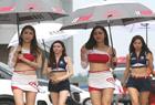 韩国美女助阵中国房车锦标赛
