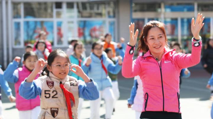 奧運冠軍走進北京小學 王者傳奇俱樂部啟動亮相