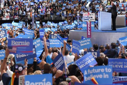 美民主党大会分裂加剧 希拉里团结选民难度加大