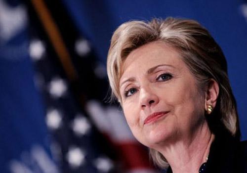 希拉里被民主党提名 或创造历史成美首位女总统