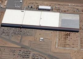 特斯拉超级电池工厂揭幕 规模庞大