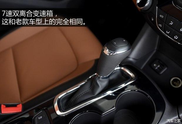 上汽通用雪佛兰 科鲁兹 2017款 1.4T 双离合领锋版