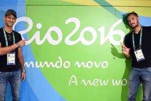 小德抵达里约直言喜欢住奥运村 盼冲击个人奥运首金