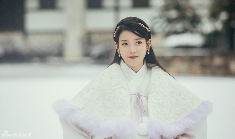 韩版《步步惊心》爆若曦IU海报