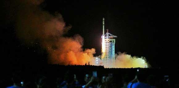 """我国成功发射世界首颗量子科学实验卫星""""墨子号"""""""