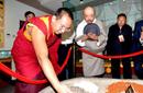 班禅拉萨开展佛事活动 为信众摸顶赐福关注藏医