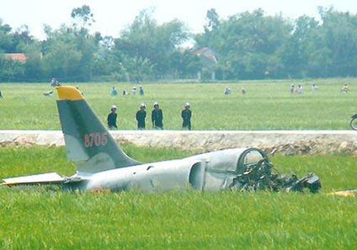 越南一架军机坠毁 1人死亡