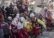 意地震已致250人死亡 官员:死伤人数会继续上升