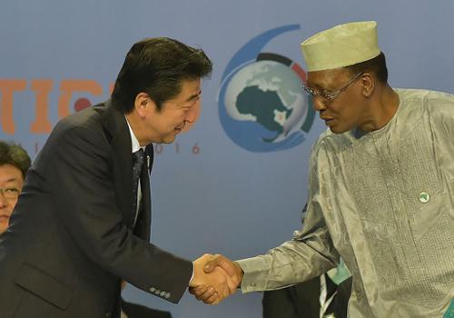 安倍宣布向非投资2340亿 抗衡中国谋安理会入常支持