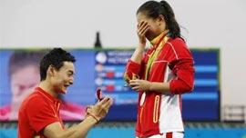 看了奥运,又相信爱情了