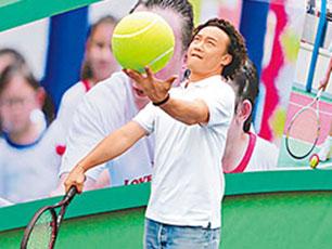 陈奕迅打网球修身 未有计划送儿女留学