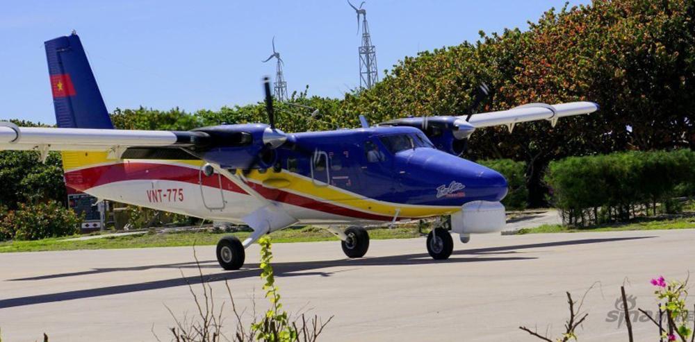 图:越南两栖飞机非法降落中国南海南威岛