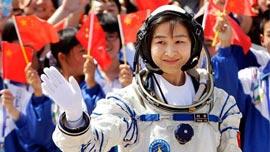 航天女将刘洋当选妇联副主席 副部级了吗?