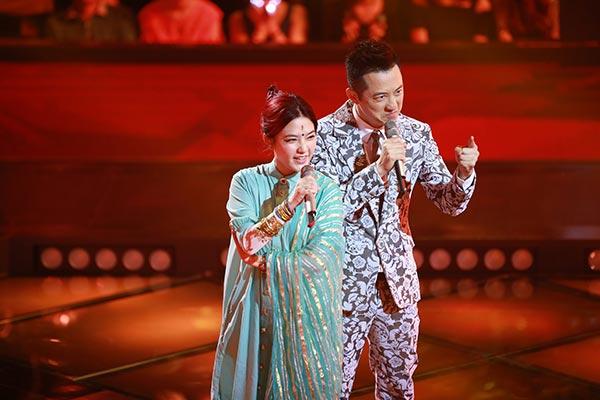 《中国新歌声》庾澄庆组对战老歌神曲轮番登场最虐心对决上演