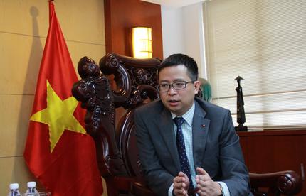 """越南驻南宁总领事:中越跨境合作区促""""一带一路"""""""