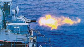 中国近防舰炮无坚不摧 构筑航母最后防线