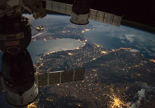 地球夜景:別樣的美麗