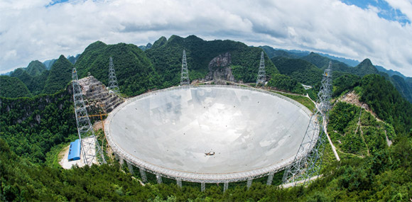 """""""中国天眼""""今开镜探穹苍 有望收到外星文明讯息"""