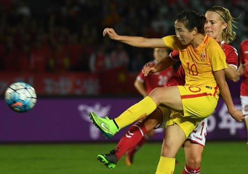 女足四国赛:中国1-0丹麦