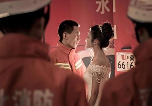 消防官兵的鐵血柔情