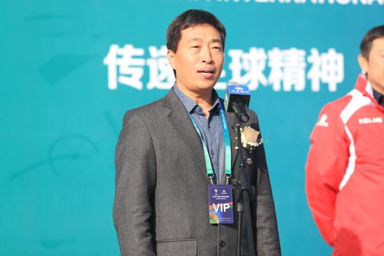 中国足球开启未来--兴业银行jfc青足锦总决赛燃情开幕