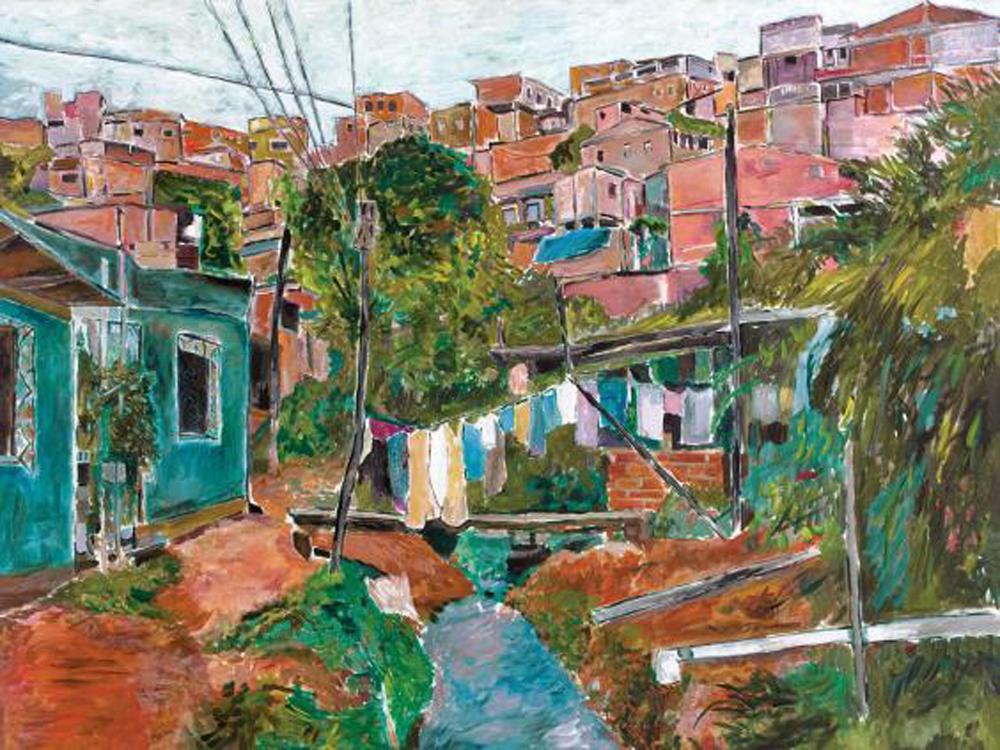 图:卜戴伦笔下的巴西风景/作者供图