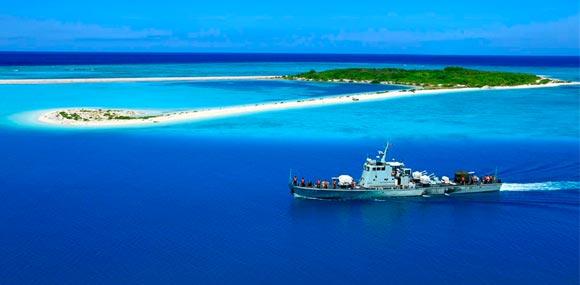 海軍近區防禦新系統衞島礁 軍力博弈或成未來主線