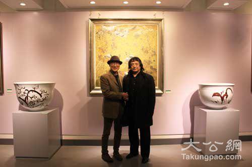 中韩教授办双人展 近200件陶瓷殊途同归诠释大道至简 - 中原陶瓷学 - 中原陶瓷学