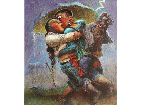 作品名稱:雷雨系列