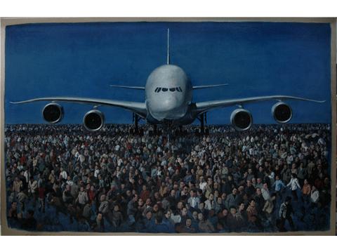 作品名称:大飞机