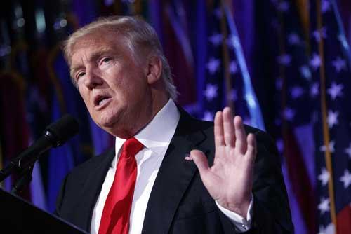 特朗普上台南海局勢料緩 對華政策尚存不確定性